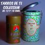 Cajas Lata De Té Antiguas,de Colección Y Adorno,b/estado