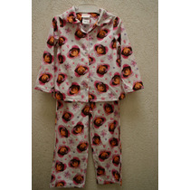 Pijama Franela Dora La Exploradora 2 Piezas Talla 4 Nueva