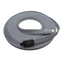 Cable Hdmi Full Hd 1080p 1.4 3d 15 M Dorado Nisuta Envio