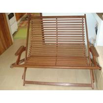 Cadeira Namoradeira Dobrável - Bem Conservada