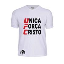 Camisas Camisetas Ufc Evangélica Gospel Banda Louvor Cristo