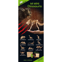 10 Rompecabezas 3d Mini Dinosaurios - Gran Variedad