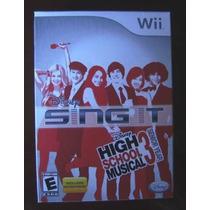 High School Musical 3 Senior Year Nuevo Nintendo Wii