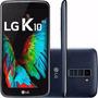 Telefone Lg K10 K410 F Tela 5,3 3g 16gb Promoçao Azul