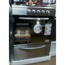 Cocina Domec Cxupv Acero Inoxidavle Multigas V.seg.hornallas
