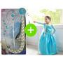 Fantasia Frozen E Acessórios Vestido Frozen Elsa No Brasil