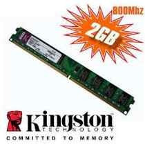 Kingston Memoria Ram Ddr2 2gb De 800mhz Con Factura