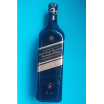 Botella Vacia Johnnie Walker Double Black Buena 001