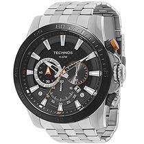 Relógio Technos Masculino Ts_carbon Chronograph Os2aba/1p