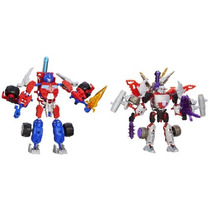 Transformers Construct-bots Optimus Prime Vs. Megatron Cons