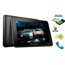 Tablet Foston M 796gt 3g - Dual Core Entrada 2 Chips Gps Tv