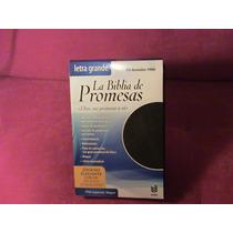 Biblia De Promesas Letra Grande Piel Negra Reina Valera 60