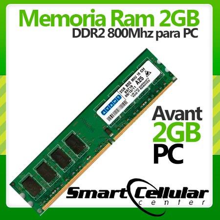 tarjeta de memoria ram ddr2 2gb