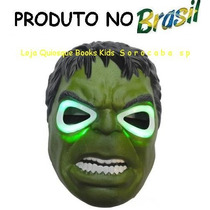Máscara Do Incrivel Hulk Com Luzes
