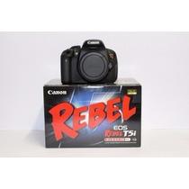 Câmera Digital Canon Eos T5i Corpo - 18mp