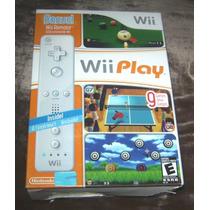 Wii Play Incluye Control Wiimote Para Nintendo Wii Nuevo