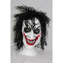 Máscara Látex Palhaço Louco Halloween Carnaval Terror Festa
