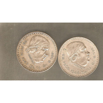 Peso Cacheton 1947-1948 Los 2 Por $180.00