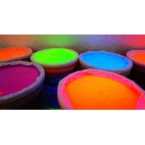 Pintura Neon 1/2 Litro Luz Negra Eventos Glow Cyalume
