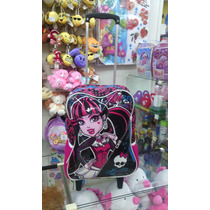 Mochilete Monster High Rodinha Sestini Original Barato