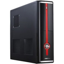 Mini Gabinete Atx S101a Slim Case Red Luna Casemall +