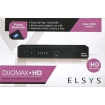Receptor Parabólica Digital E Analógico Elsys Duomax Hd