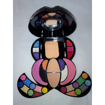 Kit Maquiagem Jasmyne Macrilan Sombra 3d Cr9956 32 Itens