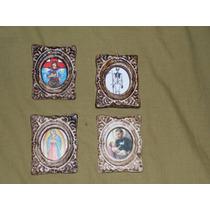 Imanes San Santos,virgen, Etc Yeso Ceramico Patinado
