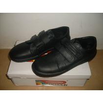 Zapatos Escolares Pocholin Talla 36 - 37 En Oferta