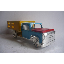 Camion De Redilas - Camioncito De Lamina Juguete Artesania