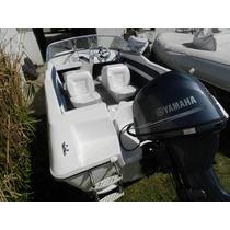 Lancha Open 4,8 Mts Con Yamaha 50 Hp 4 Tiempos Detl Ecologic