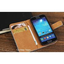 Funda Case Piel Samsung Galaxy S4 Mini I9190 Envio Gratis !!