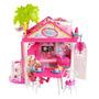 Casa Club De La Barbie Chelsea Doll Playset - Rosada