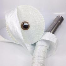 Fita Térmica Termotape Escapamento 2p X 1,5mm X 30mts Branca