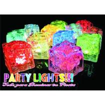 Hielos Con Luz Led 7 Colores Iluminacion Antro Bar Hielo