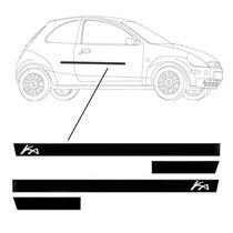 _jogo Friso Lateral Ford Ka 2013 + Merc Pago + Garantia