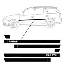 Kit Lateral Vw Parati Personalizado - Bola G3/g4 4 Portas