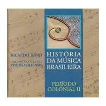 Cd Historia Da Musica Brasileira-1