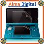 Kit 2en1 Lamina Protector Pantalla Nintendo 3ds Antiraya