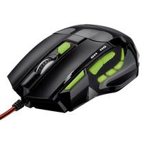 Mouse Óptico Xgamer Fire Button Preto C/ Verde - Multilaser