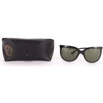 Ray Ban Rb4126 Cats 1000 Lentes Sol Negros, Tortoise Ent. In