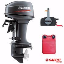 Motor Fuera Borda 40 Hp 2t Yamaha Electrico Nuevo 0km Gabott