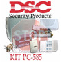 Kit Alarma Dsc-585 Con Teclado Led Batería E Infrarrojo Dsc.