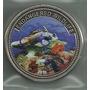 Moneda De Palau De 1 Dolar Año 2011 Pez Vida Marina