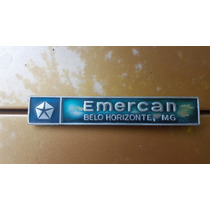 Emblema Dodge Conssecionaria Emercan Belo Horizonte
