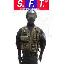 Chaleco Tactico Multiproposito Woodland Semper Fi Tactical®