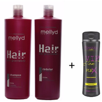 Mellyd Progressiva Hair Brushing 1000 Ml + Vip Tom Plex