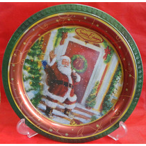 Prato Decorativo Metal - Santa Edwiges - Natal - A1