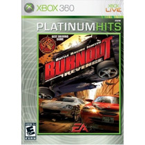 Burnout Revenge- Xbox 360 - Nuevo