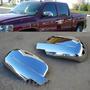 Cubre Espejos Cromados Chevrolet Silverado / Cheyenne 07-13